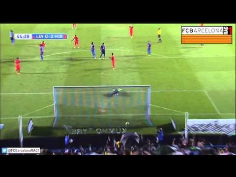 T14/15 J4 Liga BBVA: Levante UD 0-5 FC Barcelona (RAC1)