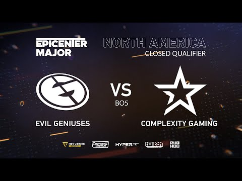 CoL vs Evil Geniuses, EPICENTER Major 2019 NA Closed Quals , bo5, Game 4 [Adekvat & Lost]