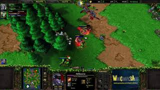 Moon(NE) vs Happy(UD) - WarCraft 3 Frozen Throne - RN4205