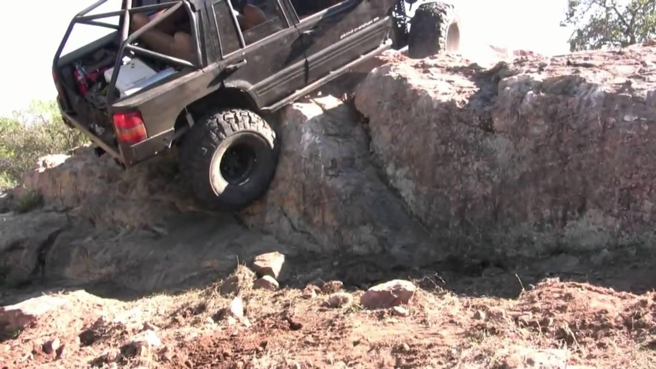 Jeep grand rock crawling at long ranch youtube
