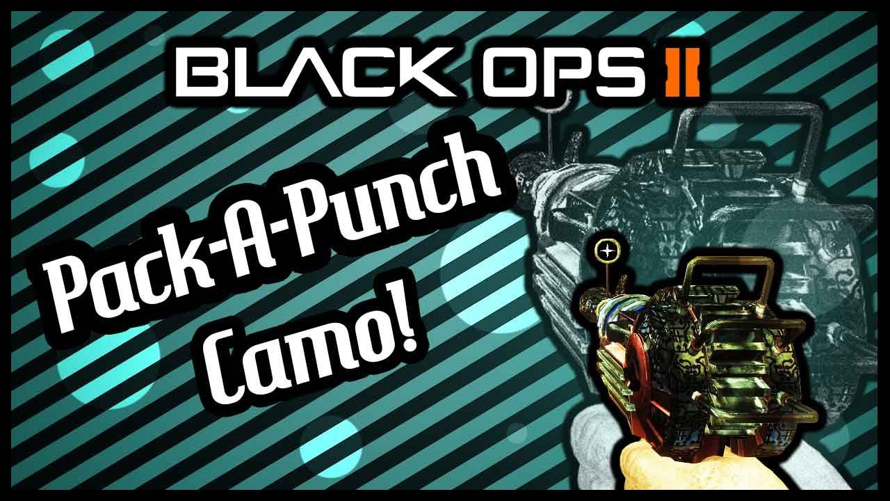 Pack a Punch Camo Black Ops 2 Black Ops 2 New Pack a Punch