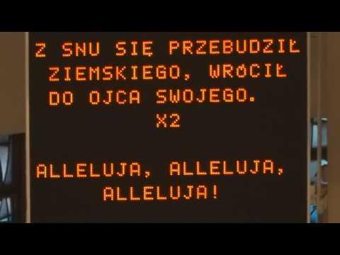 16.04.2017r Msza Rezurekcyjna W Parafii Świętej Rodziny W Katowicach Brynowie