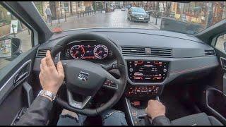 Seat Arona FR (2019) | 4K POV Test Drive #196 Joe Black