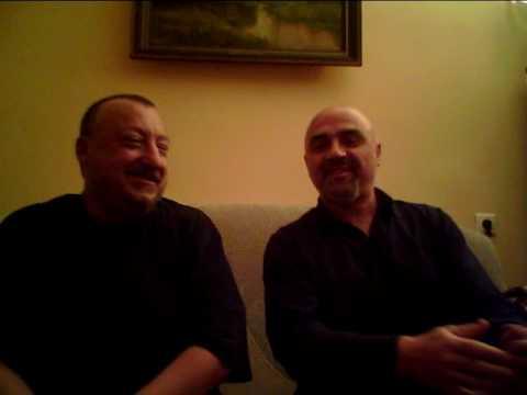Петр Подгородецкий и Леван Ломидзе на иврите