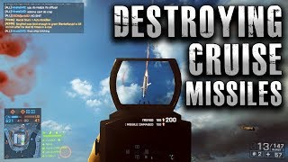 Battlefield 4 Destroying Cruise Missiles