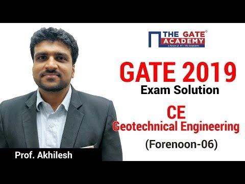 GATE 2019 Answer Key - THE GATE ACADEMY