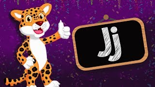 Learn The Alphabet ABC   Letter J   with PUZZLES   Learn The Alphabet Letters   Education For Kids