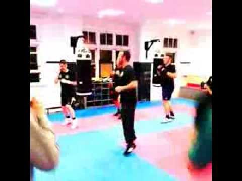 Beginners Boxing Warm up with Des Sommers!! Image 1