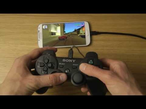 How To Pair PlayStation 3 Controller To Samsung Galaxy S4