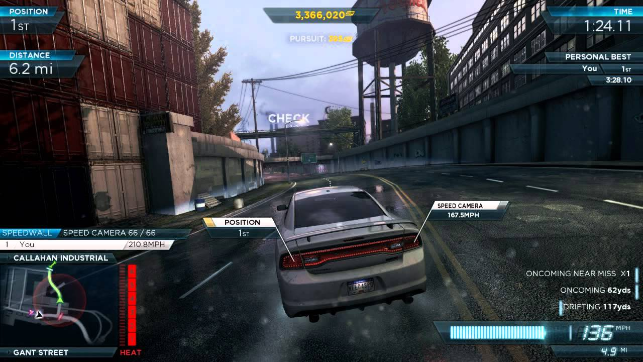 Nfs Most Wanted 2012 Dodge Charger Srt8 Full Pro Mods
