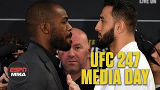 UFC 247 Media Day faceoffs | UFC 247 | ESPN MMA