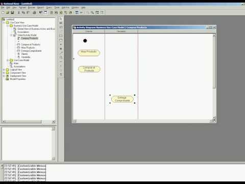 UML - Crear Diagramas De Casos de Uso de Negocio & Utilidad de Diagrama de Actividad de Negocio