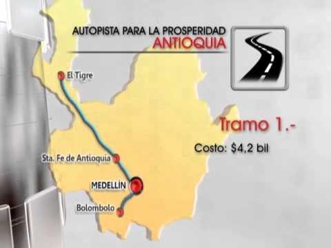 Se presentaron cronogramas y tramos de las autopistas de la prosperidad