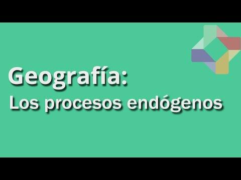 Formas de Relieve - Procesos Endógenos - Geografía - Educatina