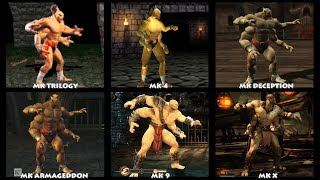 Mortal Kombat GORO Graphic Evolution 1992-2015 | ARCADE PSX PS2 XBOX GAMECUBE PC | PC ULTRA