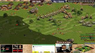 C5T4 | 4vs4 Random | Liên Quân vs Sky + Gunny | Ngày 10-10-2018
