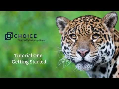 Choice Reviews - Video Tutorial 1: Getting Started