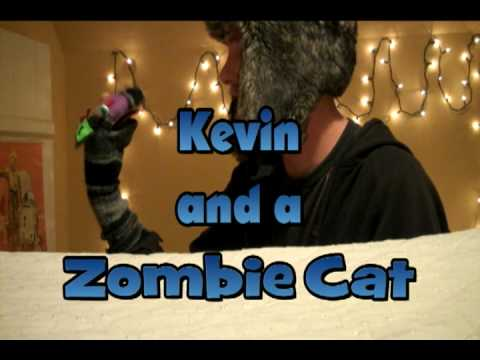 Kevin and a Zombie Cat