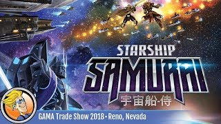 Starship Samurai — game preview at the 2018 GAMA Trade Show