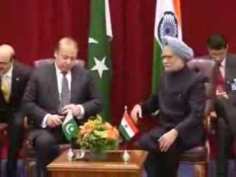 PM Manmohan Singh meets his Pak counterpart Nawaz Sharif in New York