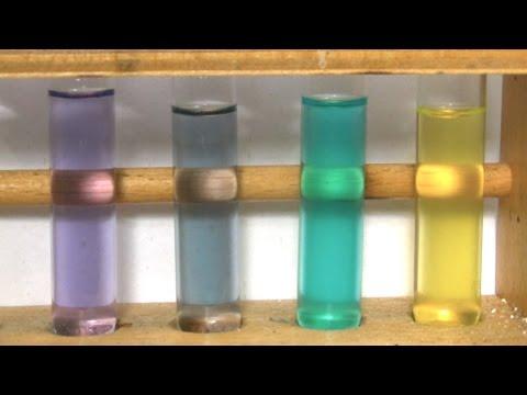 Farben von Vanadium (Colours of vanadium)
