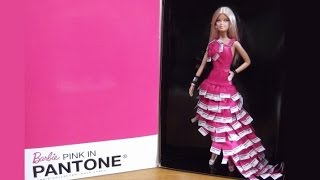Barbie Collector: Pink in PANTONE ® - Recensione / Review ITA