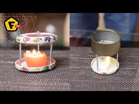 Как сделать аромалампу своими руками в домашних условиях