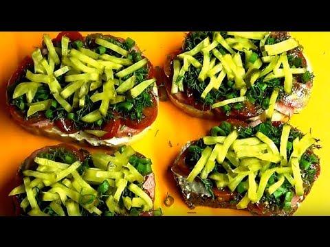 Невероятно вкусные горячие бутерброды с необычным ингредиентом.