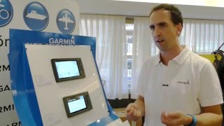 Nuevos GARMIN GPS Plotter Sonda echoMAP CHIRP con QuickDraw Countorns