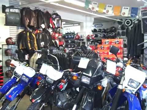 SF Moto motorcycle and scooter showroom