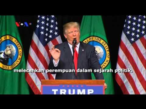 Trump, Clinton dan 'Kartu Perempuan' - Liputan Berita VOA 9 Mei 2016