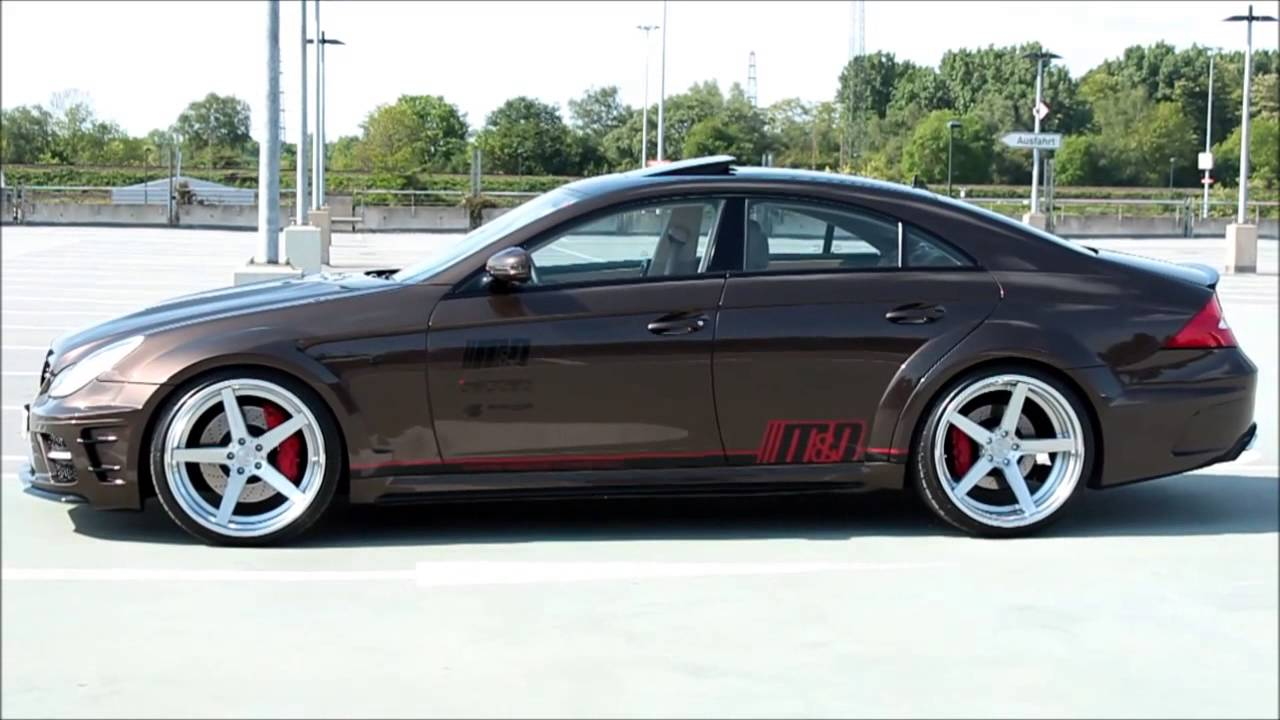 Mercedes Cls 55 Amg Black Series 63 Widebody Bodykit