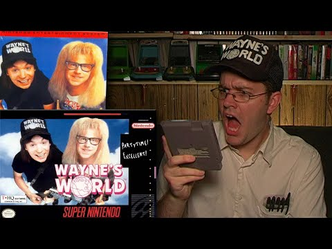 Wayne's World - NES & SNES - Angry Video Game Nerd - Episode 78