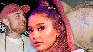Ariana's Matching Tattoo Regret + Tribute To Mac Miller
