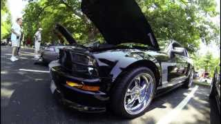 2013 American Muscle Show Coverage - Hot Mustangs featuring MGP Caliper Covers.