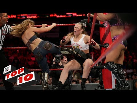 Top 10 Raw moments: WWE Top 10, September 10, 2018 thumbnail