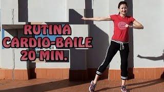 RUTINA CARDIO-BAILE PARA ADELGAZAR- CARDIO PARA PRINCIPIANTES, BAJO IMPACTO