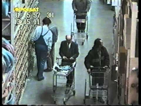 Zlodzieje w Castoramie-ukryta kamera