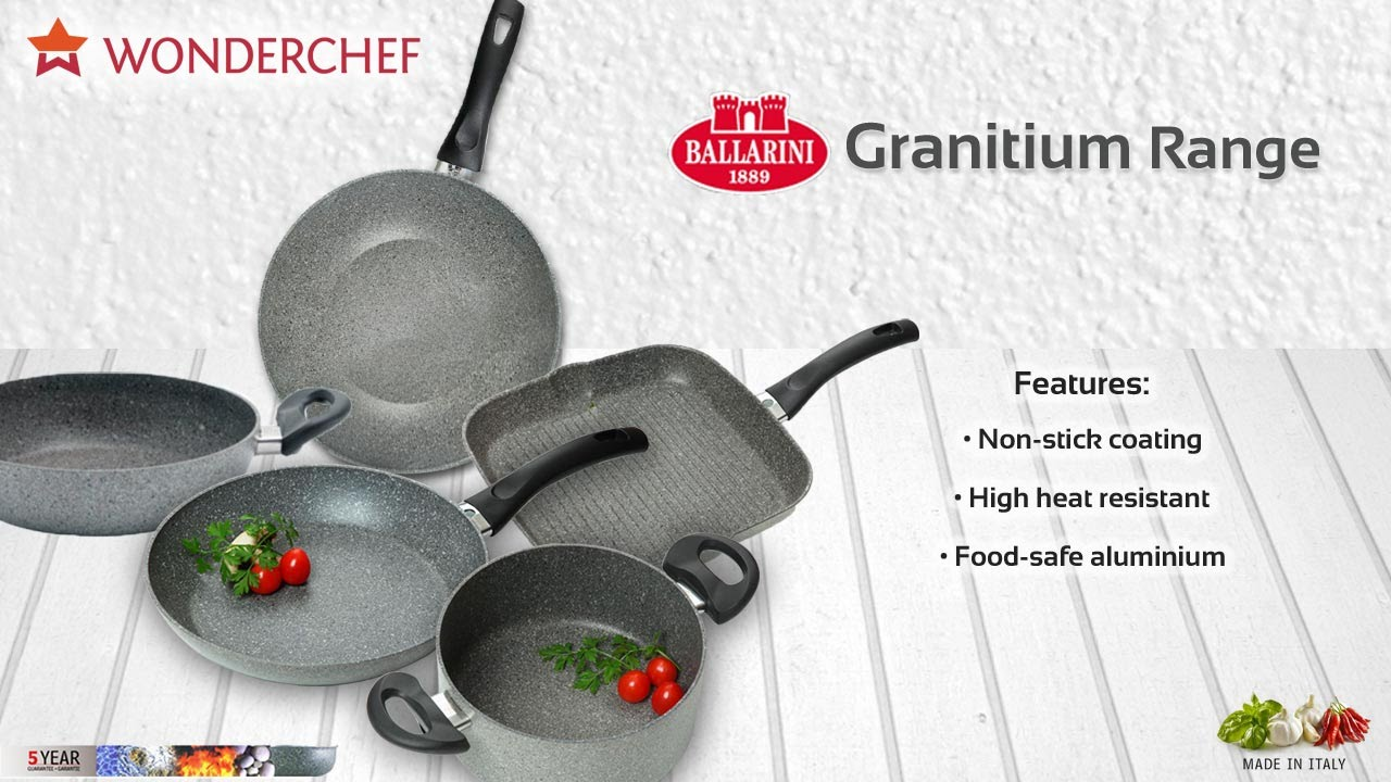 Granitium Range Of Cookware By Sanjeev Kapoor S Wonderchef