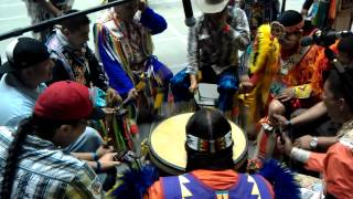 Rocky Boy Agency gathering of nations pow-wow 2012