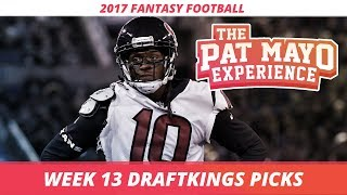 2017 Fantasy Football - Week 13 DraftKings Picks, Preview and Sleepers