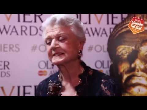 Olivier Awards 2015 winner interviews: Angela Lansbury