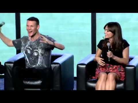 Doctor Who Conversation with the Cast   Creators   HQ 2013) HD   Matt Smith