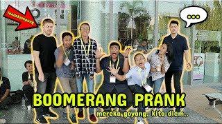 NGAKAK ! BOOMERANG PRANK, MEREKA GOYANG, KITA DIEM, FT. LONDO KAMPUNG !! - PRANK INDONESIA