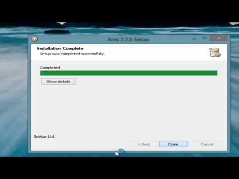 Como Descargar Ares Para Windows 8 Y Windows 7