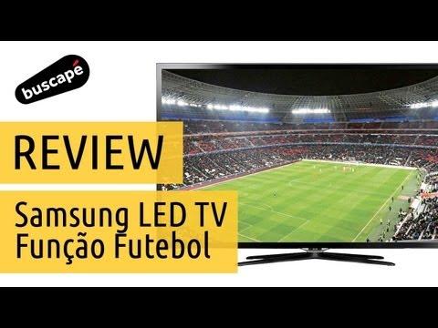Samsung LED TV F5500 com Função Futebol - Avaliação