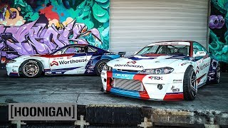 2000HP Tandem Thrash - James Deane and Piotr Wiecek's Nissan S15s  // DT266