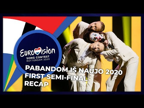 Pabandom iš Naujo 2020 (Lithuania) | First Semi-Final | RECAP