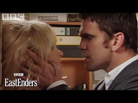 Roxy & Jack kiss - EastEnders - BBC drama Video