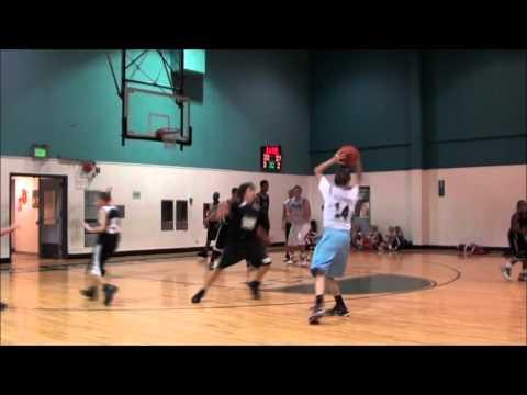 7th Grade Hoop Star Jashaun Agosto playing High School Varsity AAU